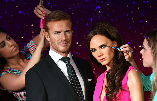 Madame Tussauds Unveil New Waxworks Of David And Victoria Beckham
