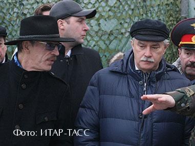 Михаил Боярский. Георгий Полтавченко