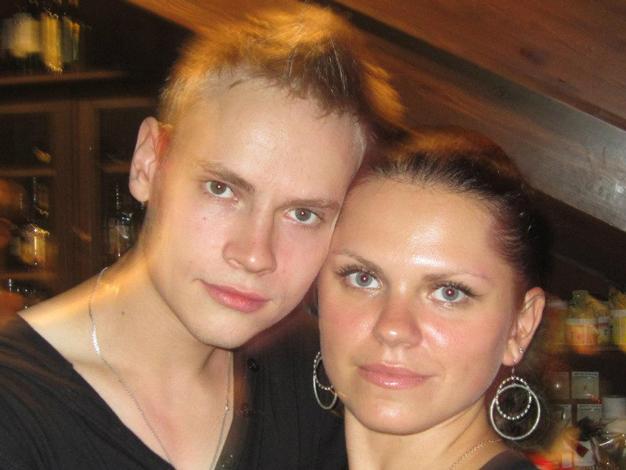 Ярослав Дронов с супругой