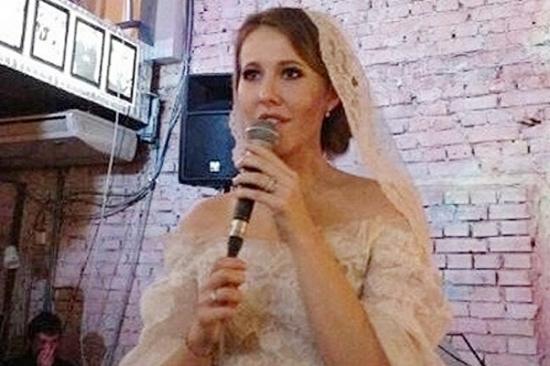 Свадьба Ксении Собчак: подробности и фото / StarFever.RU