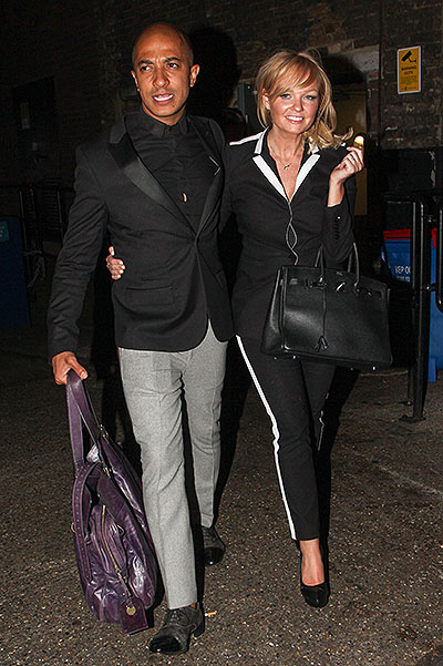 Celebrities seen leaving The Arts Club where Victoria Beckham celebrated her 40th birthday in London, UK