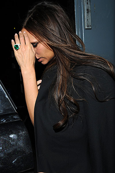 Victoria Beckham celebrates her 40th birthday