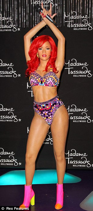 ABS-olutely life-like? Madame Tussauds unveiled two eye-catching wax figures for Rihanna on Tuesday, one of which opted to give the Barbadian pop star six-pack abs